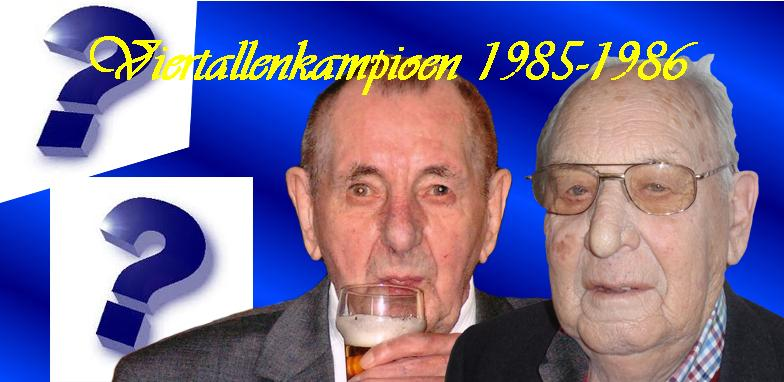 VTKampioen 1985-1986